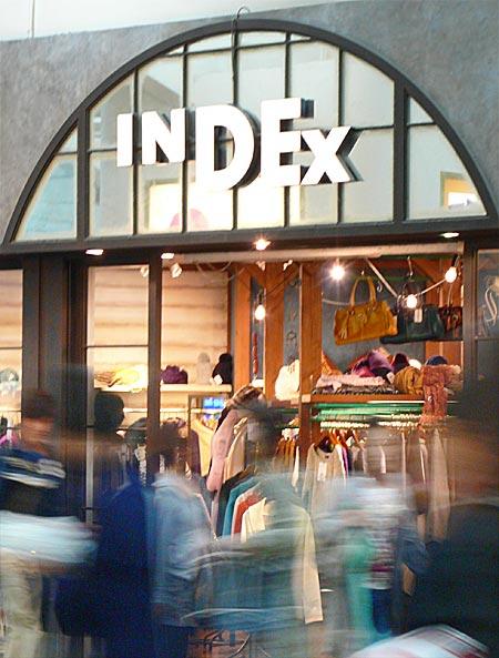 Index Store in Shibuya, Tokyo, Japan - Copyright David Sherwin