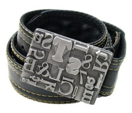 Multifont Buckle from Steel Toe Studios