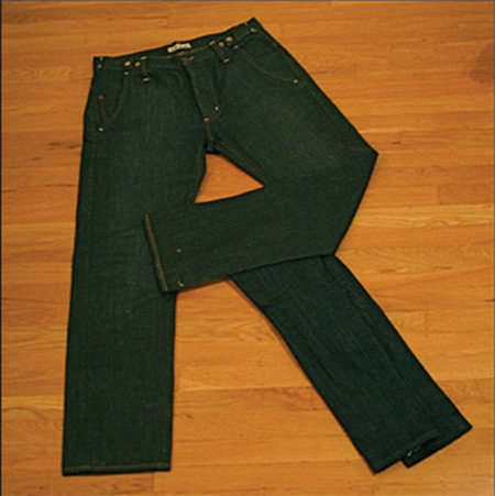 Donnie Dinch Denim Alphabet R