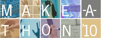 Make-a-Thon AIGA Website Header