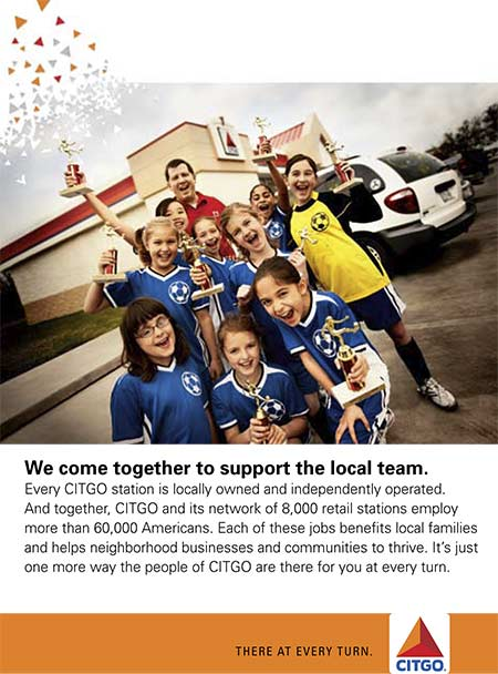 CITGO Local Jobs Ad
